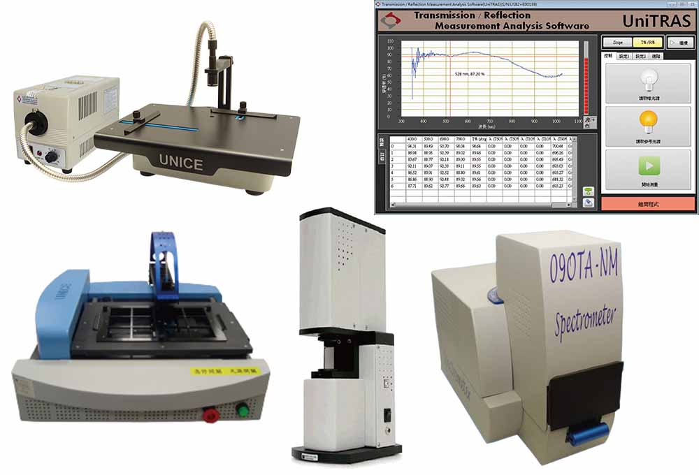 Transmittance & Reflectance Application of Spectrometers