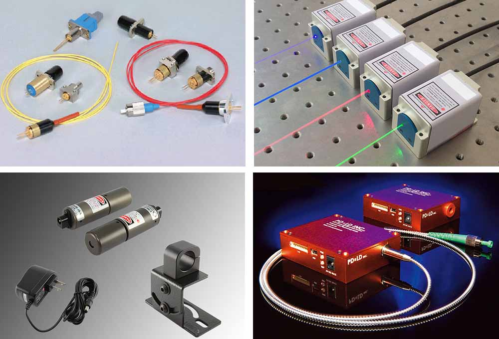Laser Diode Modules - 375~980nm