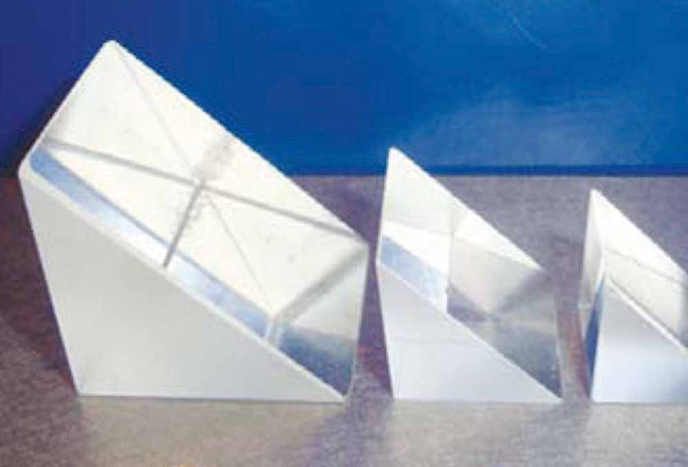 Commercial Grade Right Angle Prisms
